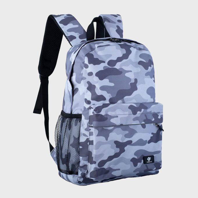 Camo Backpack Via Amazon