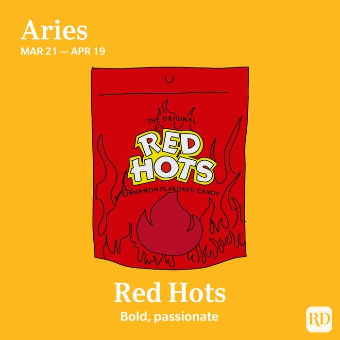 Aries favoite candy