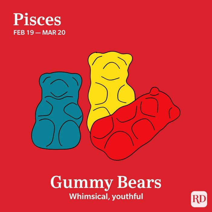 Pisces favorite candy