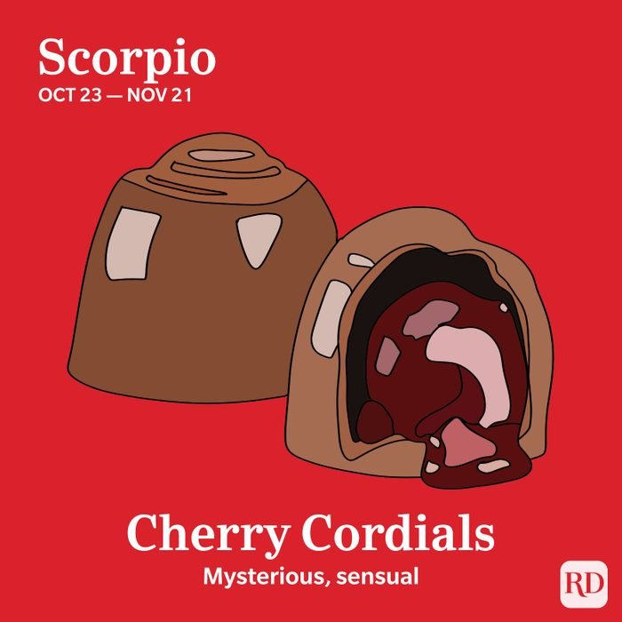 Scorpio favorite candy