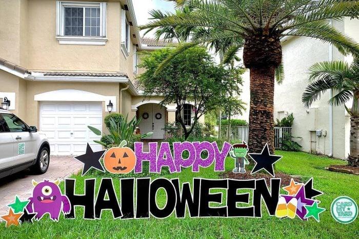 Card My Yard Halloween Sign