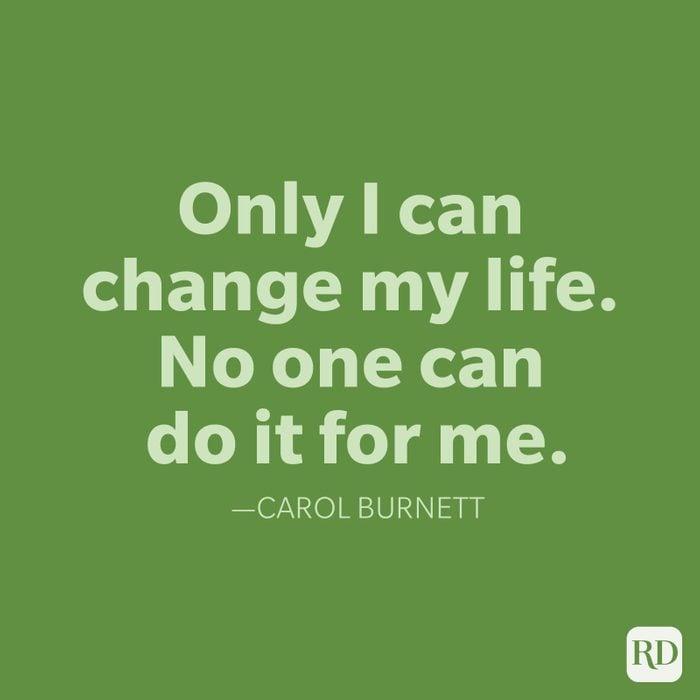 Carol Burnett Change Quotes