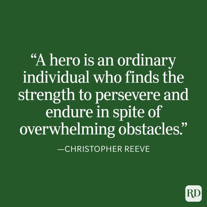 Christopher Reeve Strength Quote