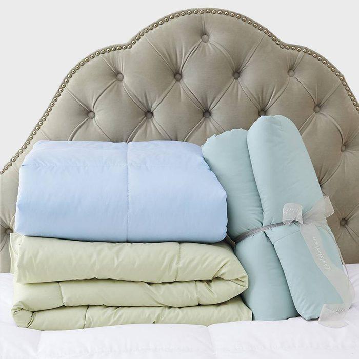 Colored Comforters Via Cuddledown
