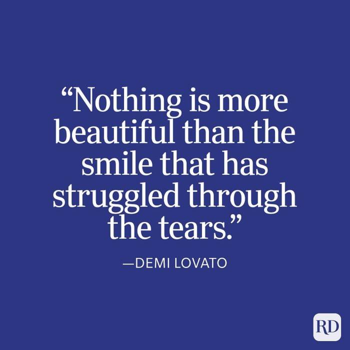 Demi Lovato Strength Quote