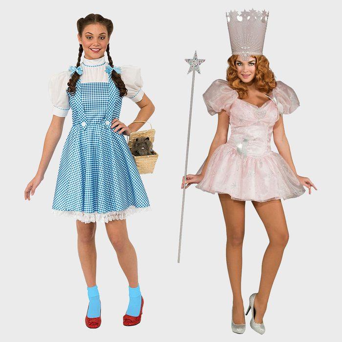 Dorothy And Glinda Halloween Costumes