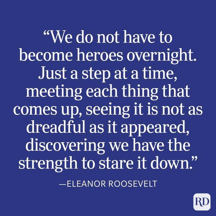 Eleanor Roosevelt Strength Quote