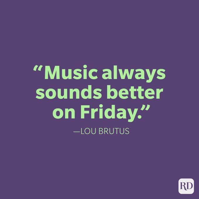 Friday Quote Lou Brutus