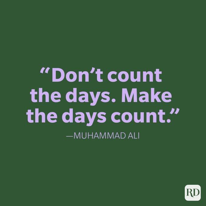 Friday Quote Muhammad Ali