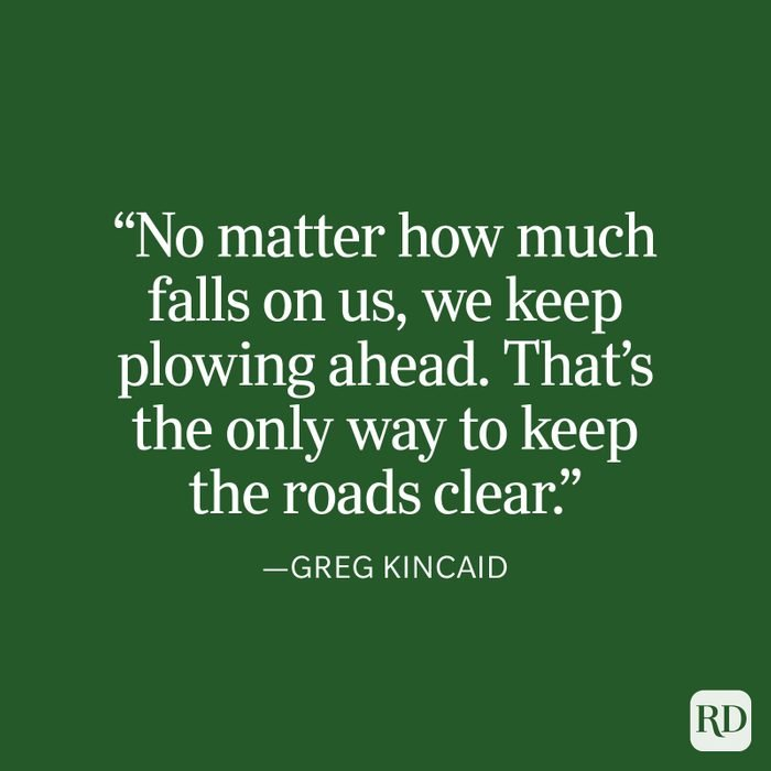 Greg Kincaid Strength Quote