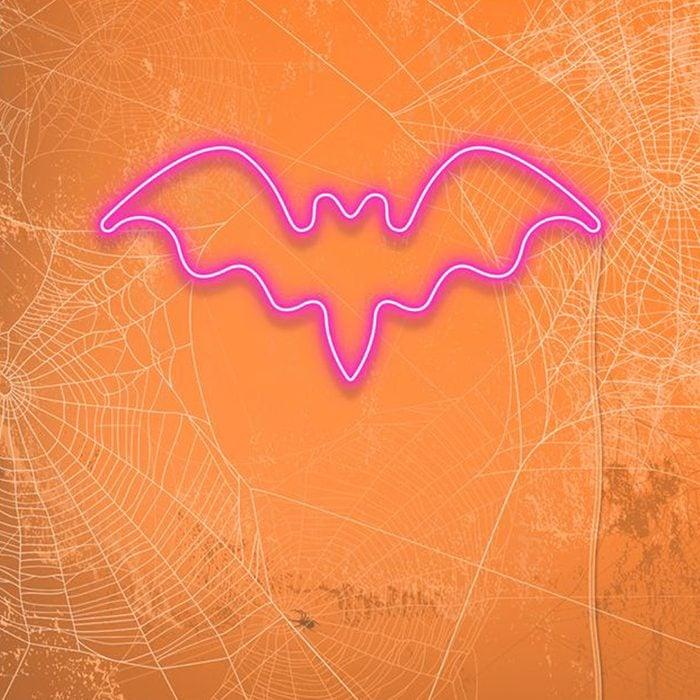 Halloween Bat Neon Sign