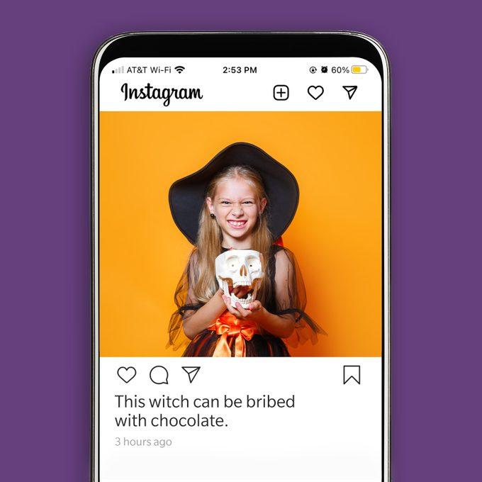 Halloween Instagram Caption 2