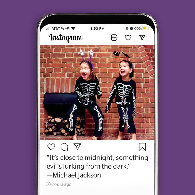 Halloween Instagram Caption 8