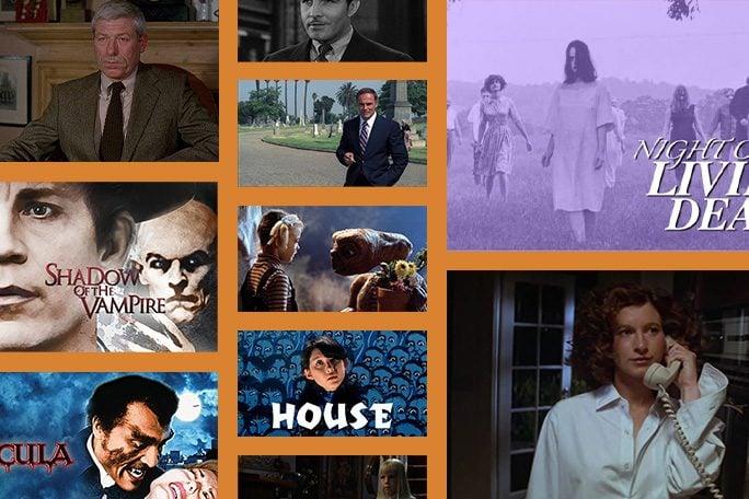 Halloween Movies collage