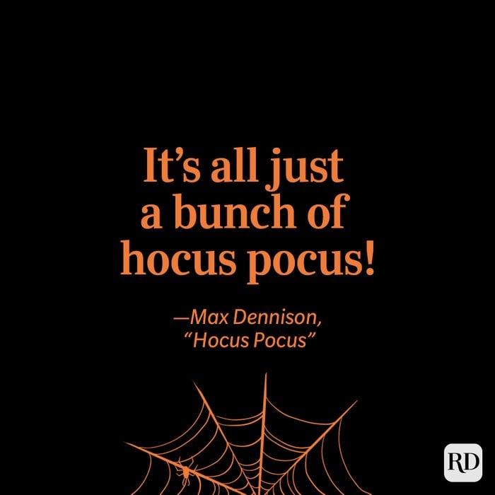 """""""Hocus Pocus"""" quote"""