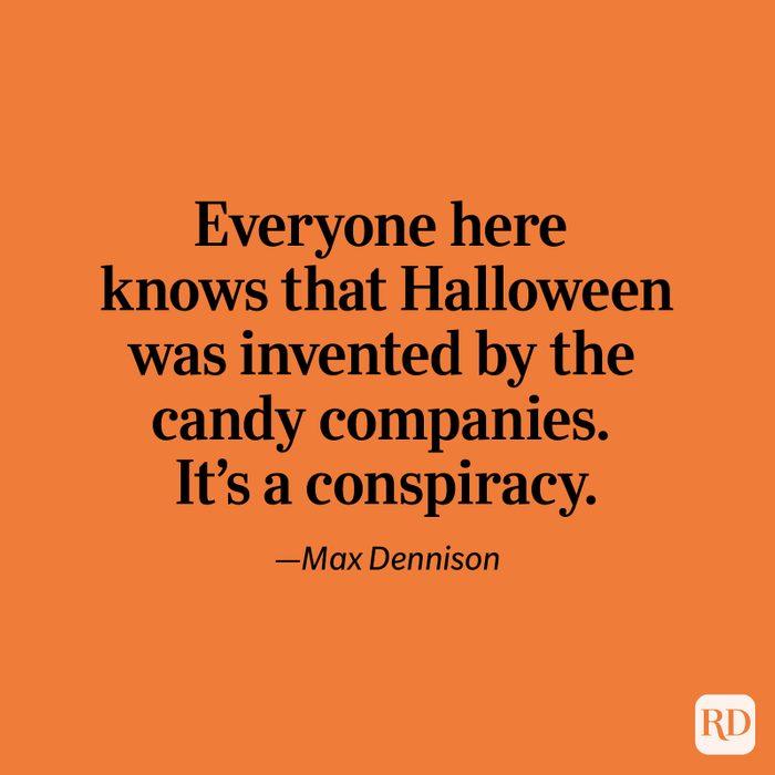 Max Dennison quote