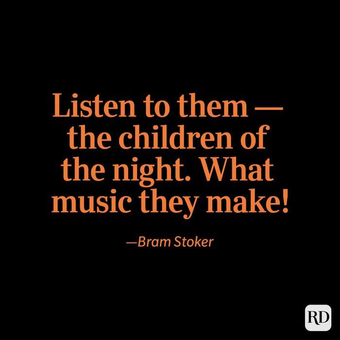 Bram Stoker quote