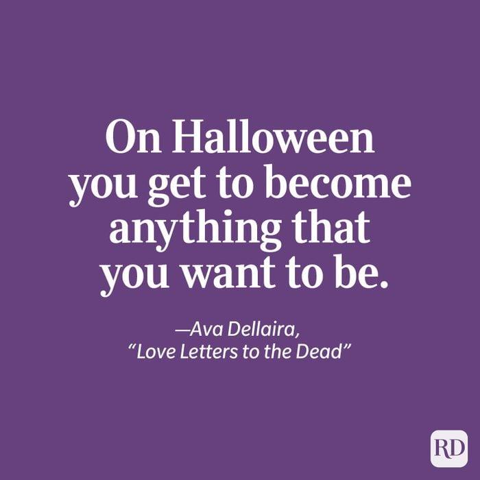 """Ava Dellaira, """"Love Letters to the Dead"""" quote"""