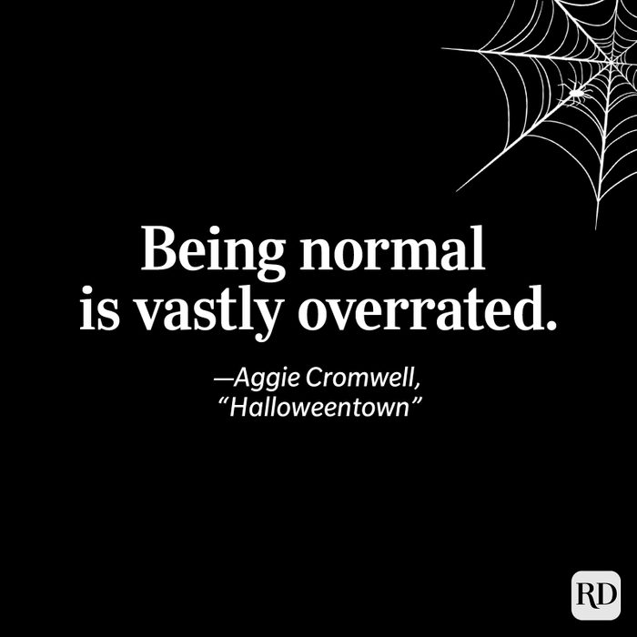 """Aggie Cromwell, """"Halloweentown"""" quote"""