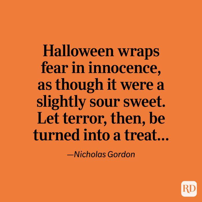 Nicholas Gordon quote