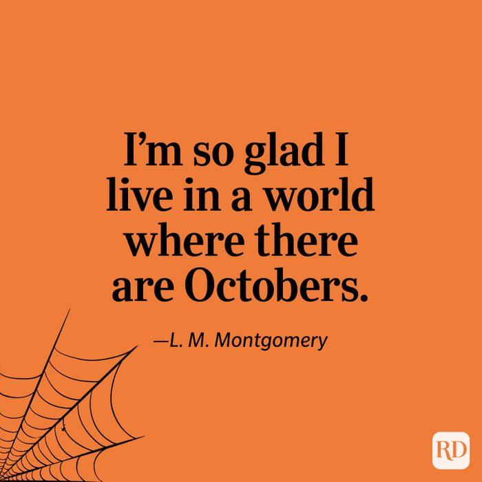L. M. Montgomery quote