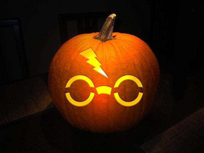 Harry Potter Pumpkin Stencil