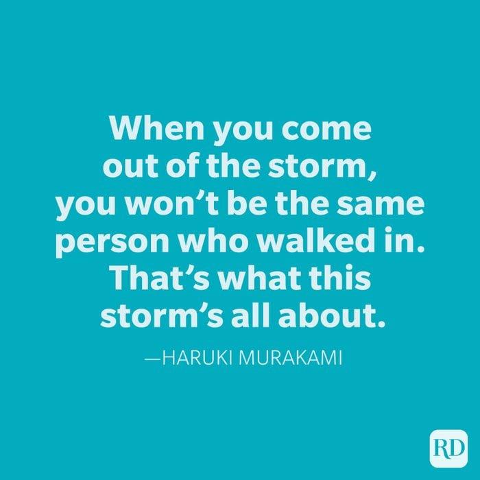 Haruki Murakami Change Quotes