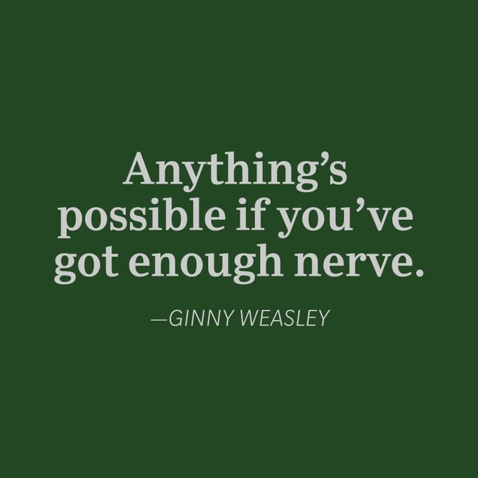 Ginny Weasley quote
