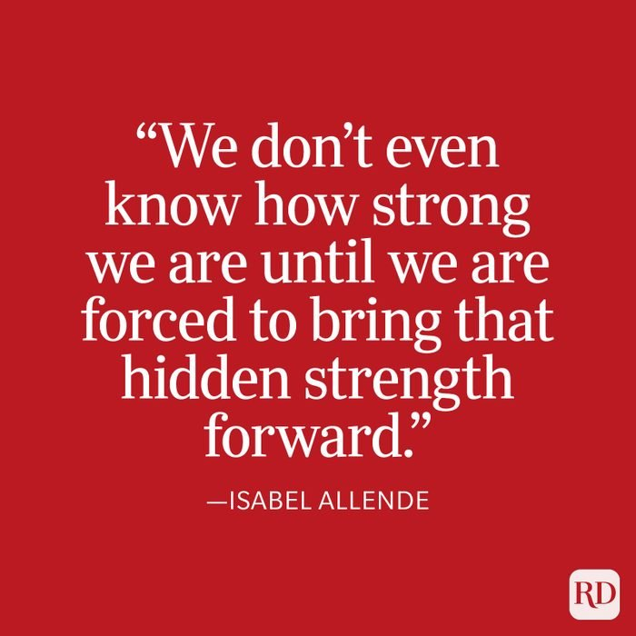 Isabel Allende Strength Quote