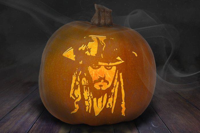 Jack Sparrow carved Pumpkin