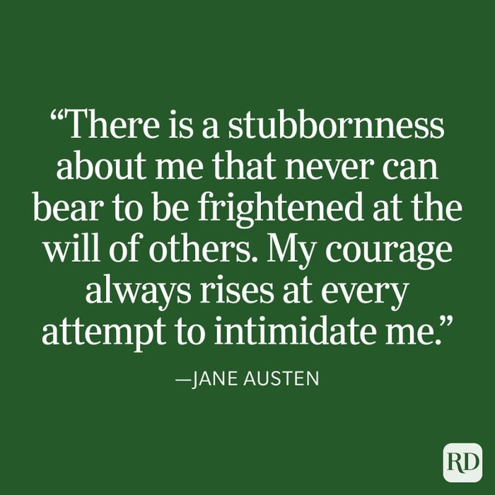 Jane Austen Strength Quote