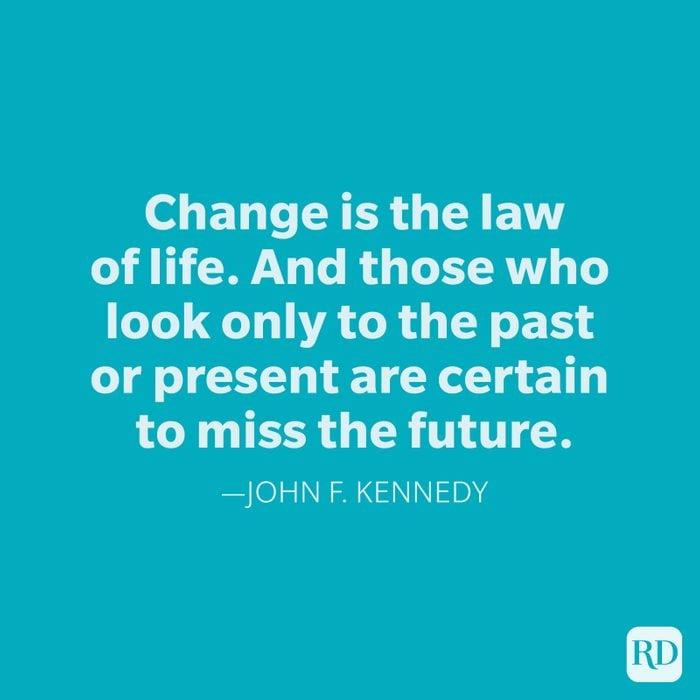 Jfk Change Quotes