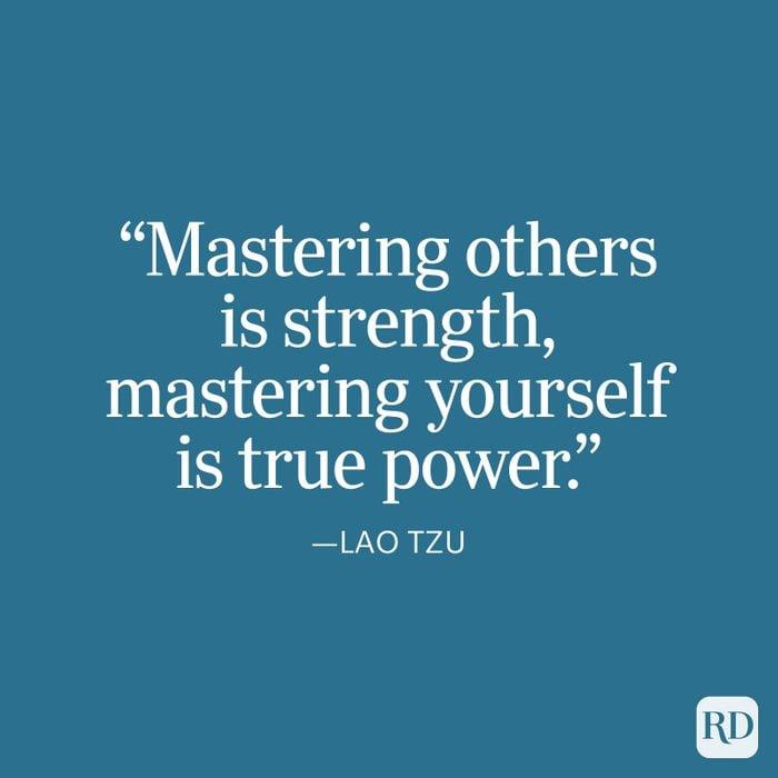 Lao Tzu Strength Quote