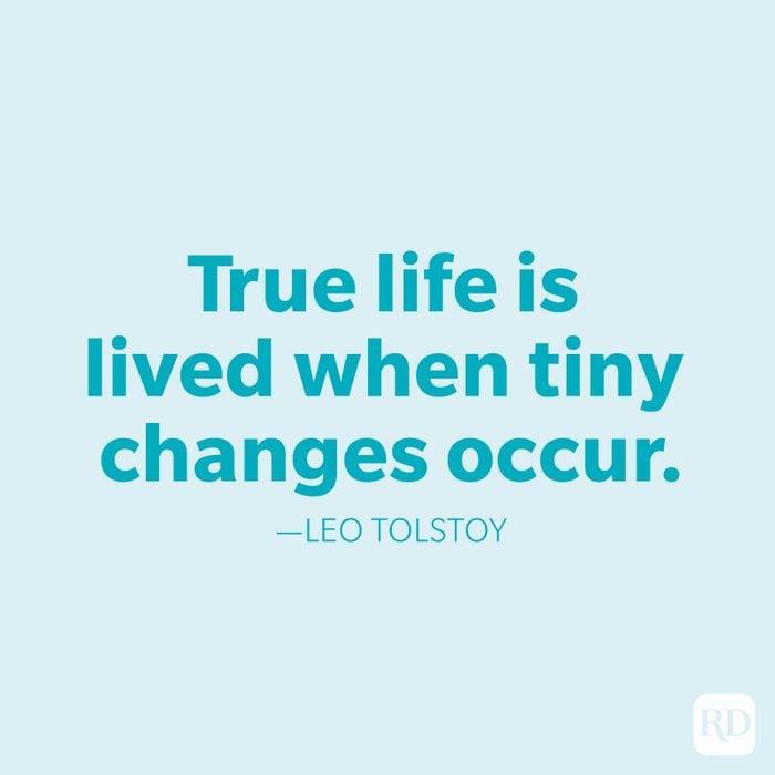 Leo Tolstoy Change Quotes