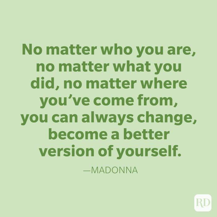 Madonna Change Quotes