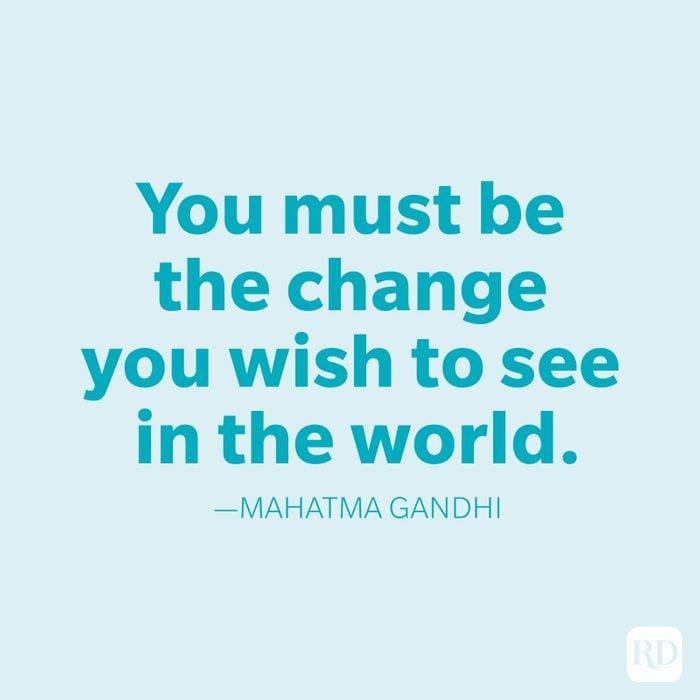 Mahatma Gandhi Change Quotes