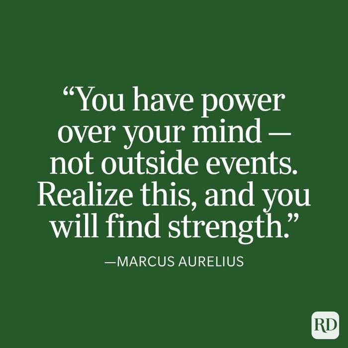 Marcus Aurelius Strength Quote