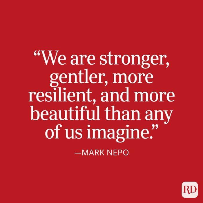Mark Nepo Strength Quote
