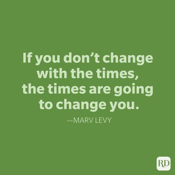 Marv Levy Change Quotes