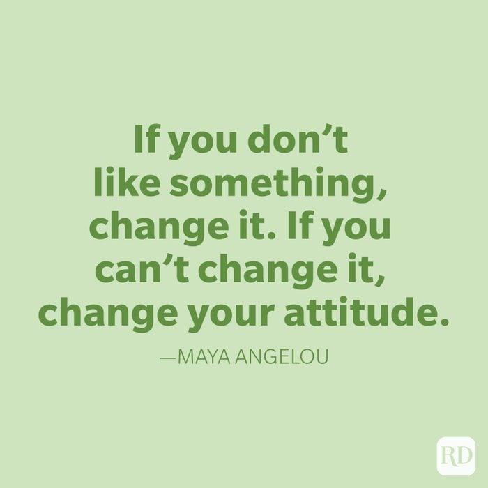 Maya Angelou Change Quotes