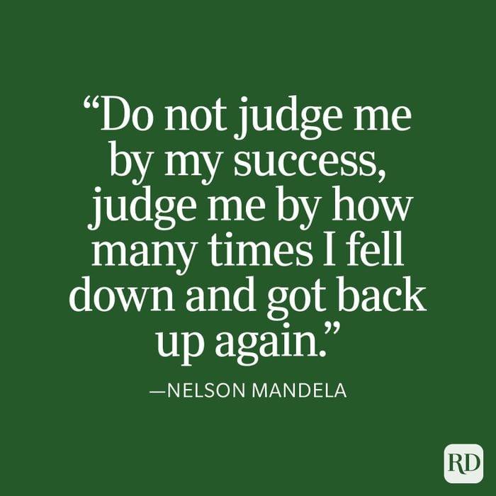Nelson Mandela Strength Quote
