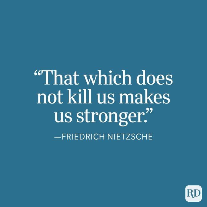 Nietzsche Strength Quote