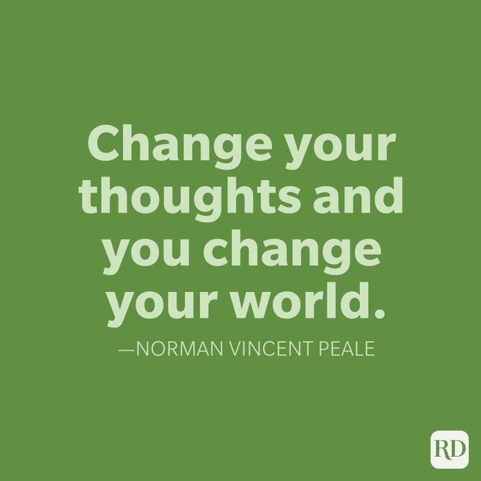 Norman Vincent Peale Change Quotes