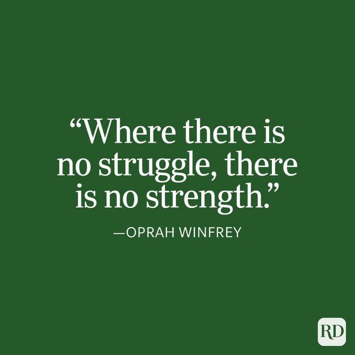 Oprah Winfrey Strength Quote