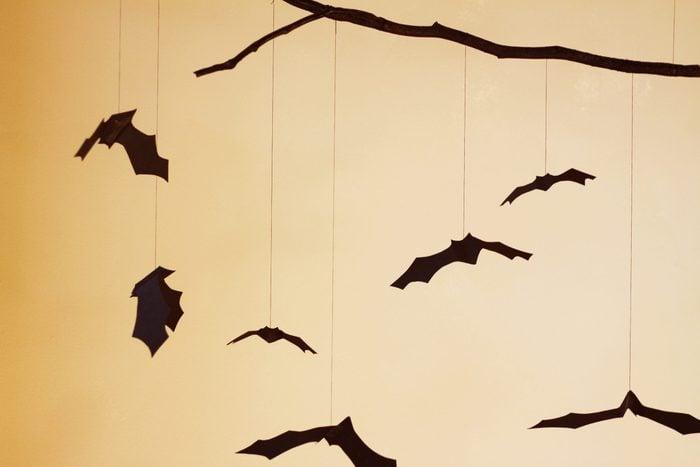 bat mobile halloween decoration