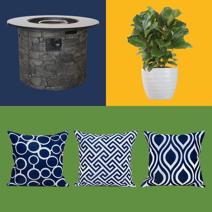 Outdoor Patio Furniture Colorblock Ft