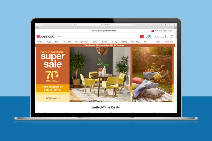 Overstock Labor Day Sale