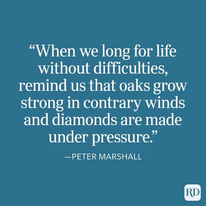 Peter Marshall Strength Quote