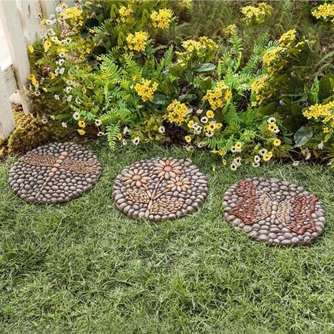 Plow And Hearth Decorative Stepping Stones