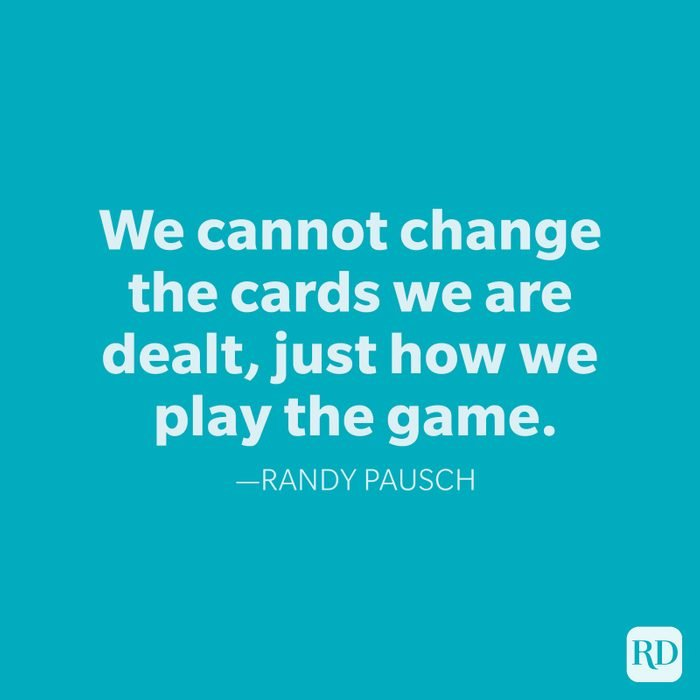 Randy Pausch Change Quotes